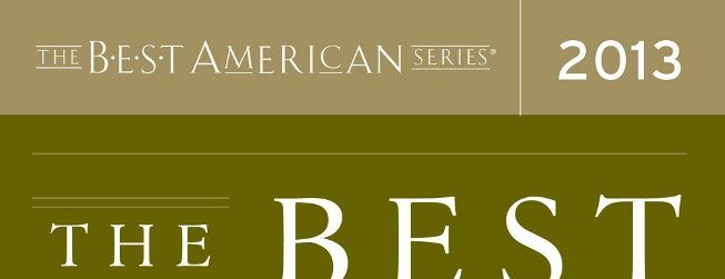 Essays from 13.2 Selected for Best American Essays
