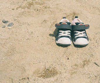 Sneakers in Sand (repeat)